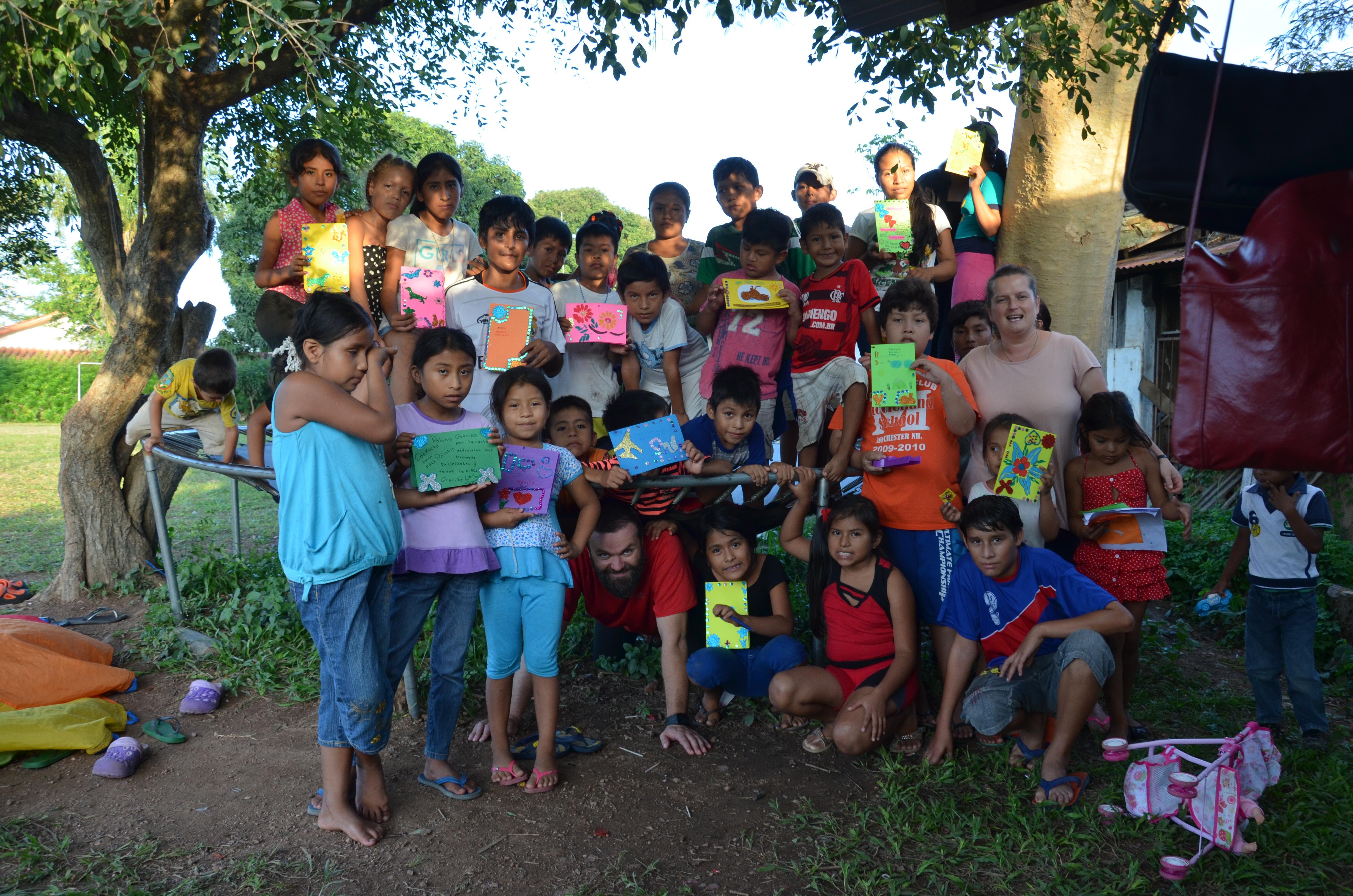 Rozweselmy twarze dzieci w Boliwii